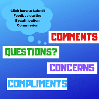 Beautification Commission Feedback