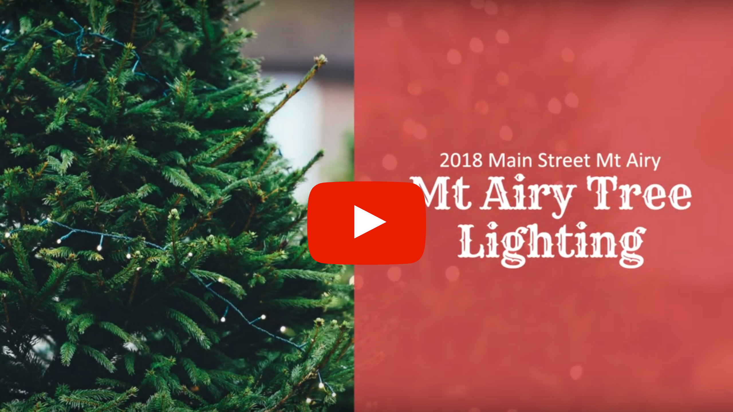Tree lighting youtube thumbnails 2018