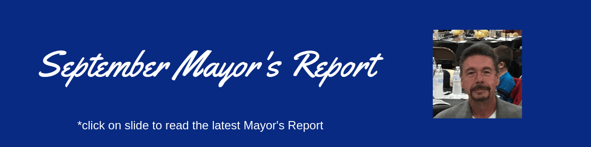 September Mayor's Report
