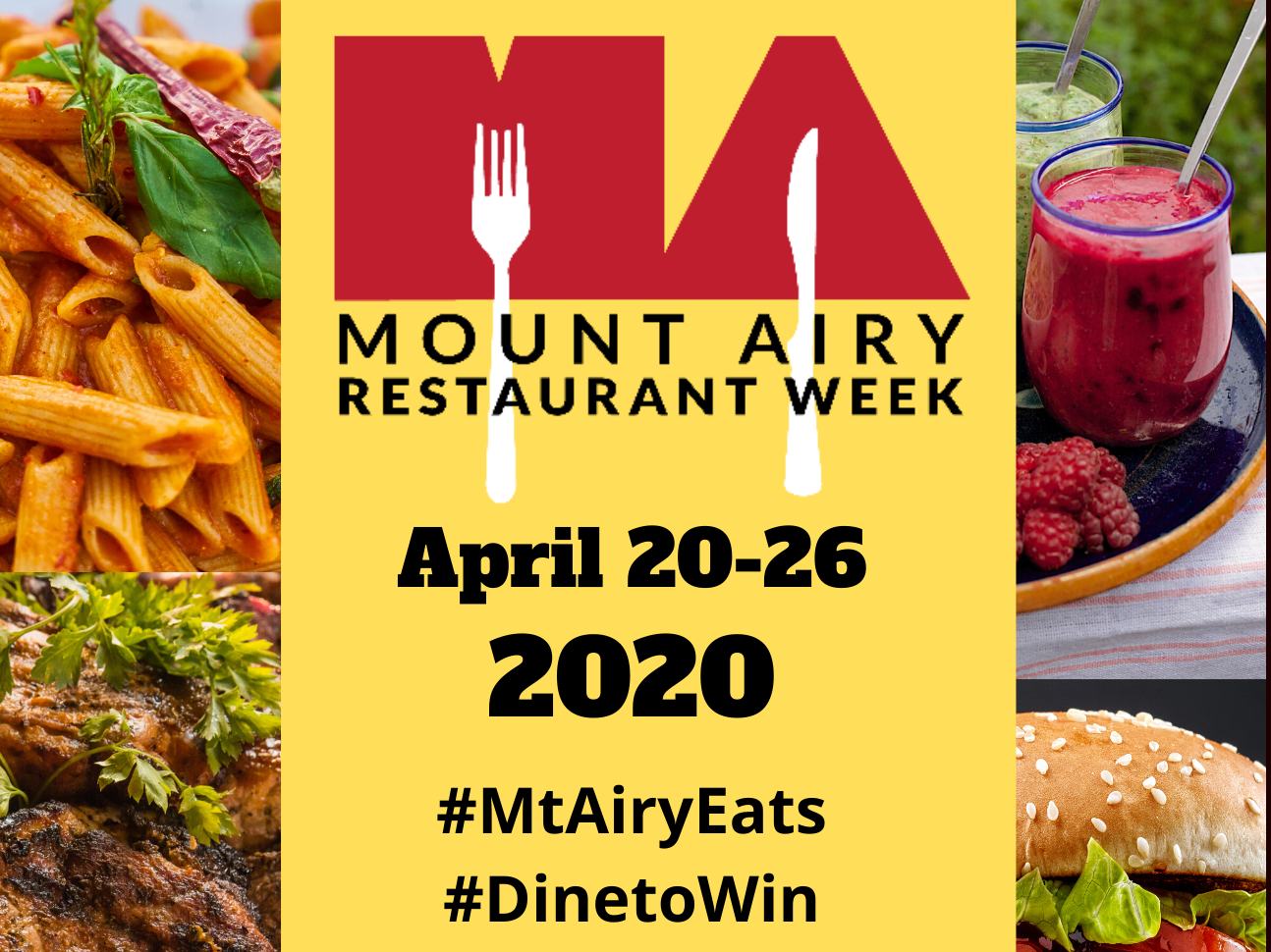 Restaurant Week 2020 - 11 x 17 new edition as image