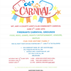 4 County Lions Carnival Flyer