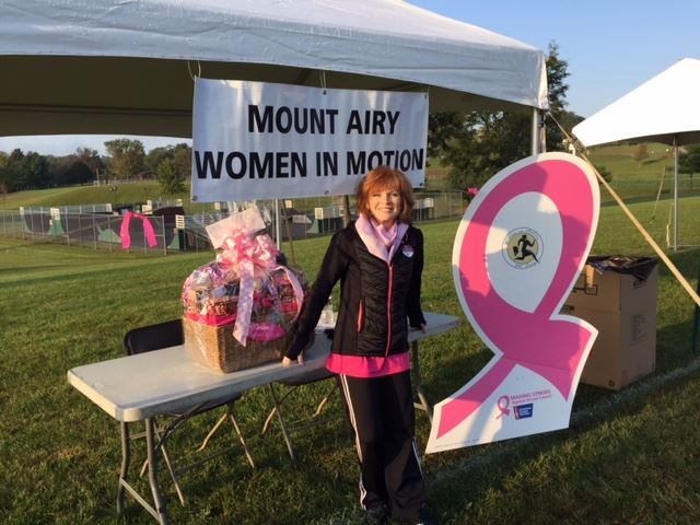 breast Cancer walk 2016