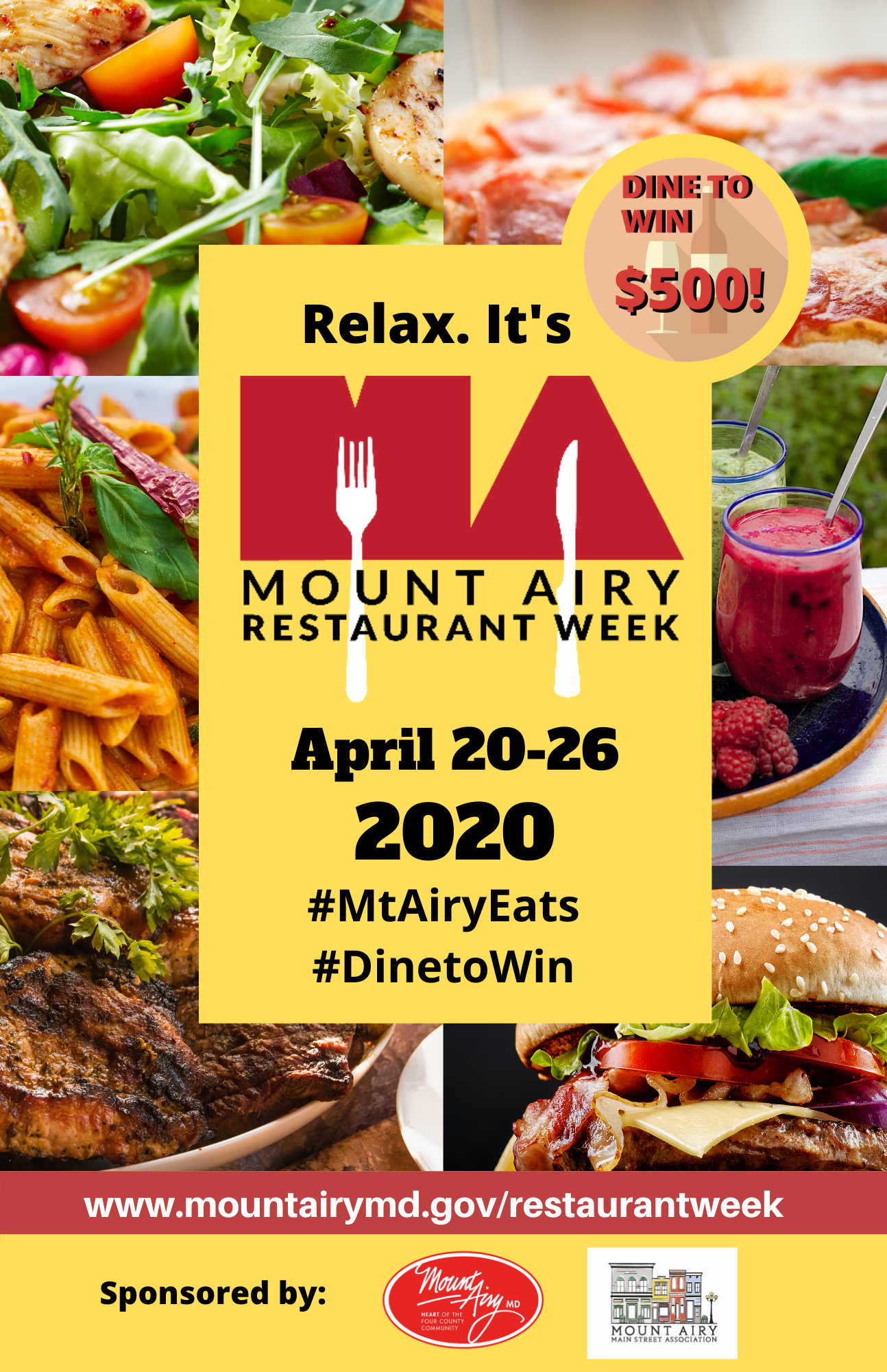 Restaurant Week 2020 - 11 x 17 updated